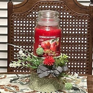 American Home/Yankee Candle Set
